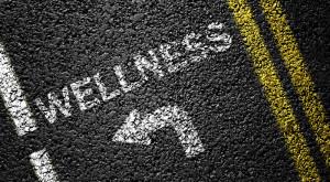 wellness road arrow